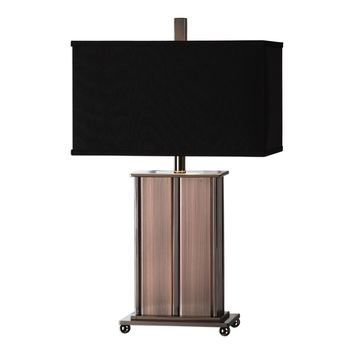 Seyburn Antiqued Copper Table Lamp by Uttermost
