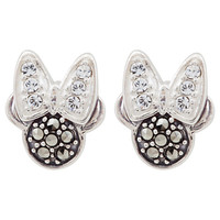 Minnie Mouse Icon Earrings by Judith Jack