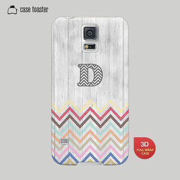 Galaxy S5 Case, Galaxy S4 Case, Galaxy S3 Case, Galaxy Note 2 Case, Galaxy Note 3 Case, Samsung Case-Chevron Case, Initial Case, Tribal Case