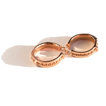 Bliss Lau - Rose Doublet 2 Finger Ring | BONA DRAG