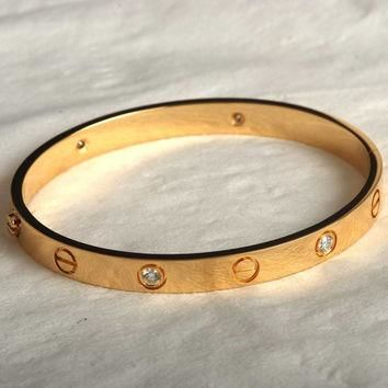 Cartier Love bracelet by Treasurejewelr on Etsy