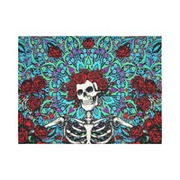 Grateful Dead Red Roses Wall Tapestry