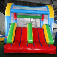 Double Slide Bounce House  Indoor/Outdoor Inflatable