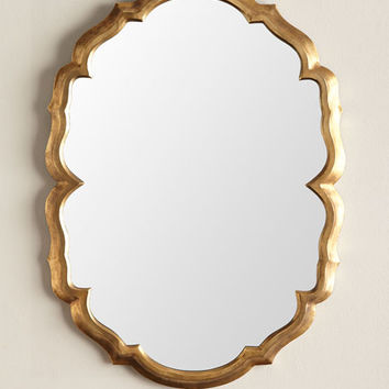Jamie Young Centerpoint Scalloped Mirror