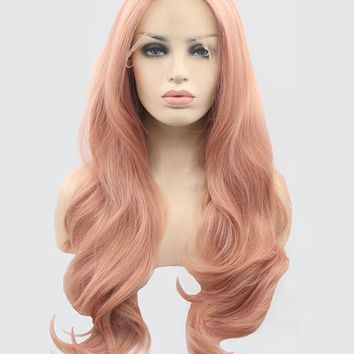Campsis Grandiflora Synthetic Lace Front Wig