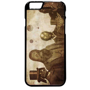 Boba Fett C-3po Darth Vader Yoda and Chewbacca Star Wars For iPhone 6 Plus Case **
