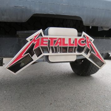 Metallica.com | Products | Metallica 3D Logo Trailer Hitch Cover