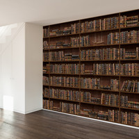 Well Read Wall Mural Decal