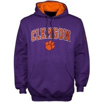 Clemson Tigers Purple Automatic Hoodie Sweatshirt