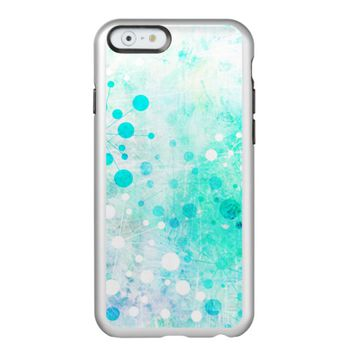 Blue Watercolor Retro 60's Design Incipio Feather Shine iPhone 6 Case