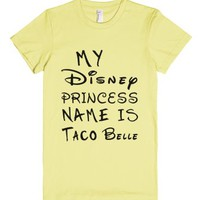 Princess Taco Belle JRS-Female Lemon T-Shirt