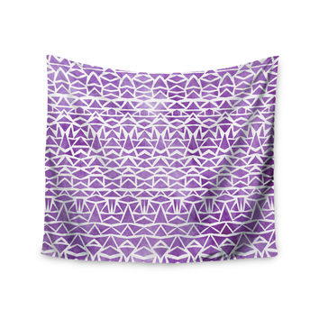 "Pom Graphic Design ""Tribal Mosaic"" Wall Tapestry"