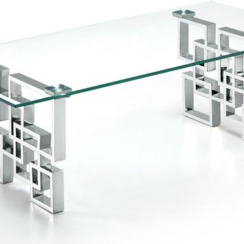 Alexis Chrome Coffee table