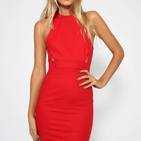 Quick Kiss Dress - Red