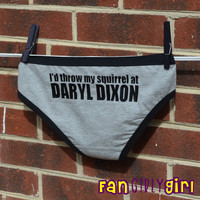 The Walking Dead TV show inspired Hipster Panties  by fangirlygirl