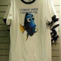 "Finding Nemo Dory ""I Forgot Where I Got This Tee"" T-Shirt (Adult) Enlarged Picture"
