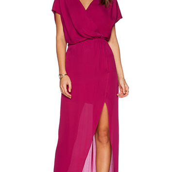 Rory Beca MAID by Yifat Oren Plaza Gown in Magenta