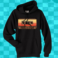 casette guardian  crewneck hoodie for men and women
