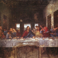 Leonardo Da Vinci The Last Supper Poster 24x36
