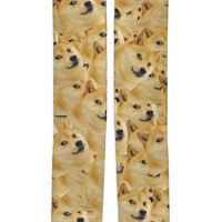 Doge Knee High Socks