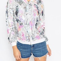 ASOS Ultimate Sequin Bomber