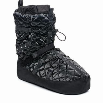 Capezio Quilted Technique Warmup Bootie