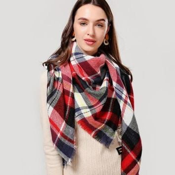 Women's Cashmere Blend Scarf
