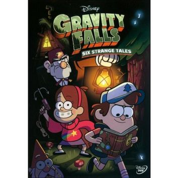 Gravity Falls: Six Strange Tales (W/Book) (DVD)
