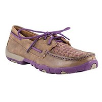 Twisted X Ladies Bomber & Purple Mocs in Casual Boots