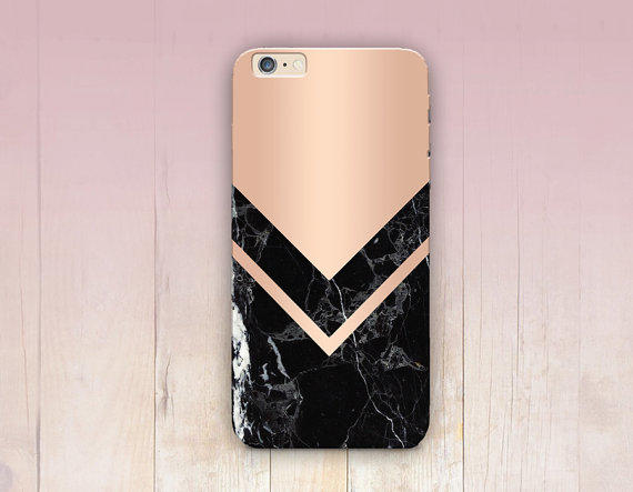 Rose Gold Marble Print Phone Case - iPhone 6 Case - iPhone 5 Case - iPhone  4 Case - S c403c4268f56