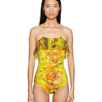 FUZZI One-Piece Ruffle Swimsuit