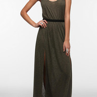 Urban Outfitters - Silence & Noise Knit Double-Slit Front Maxi Dress
