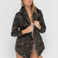 Combat Mission Camo Hooded Jacket