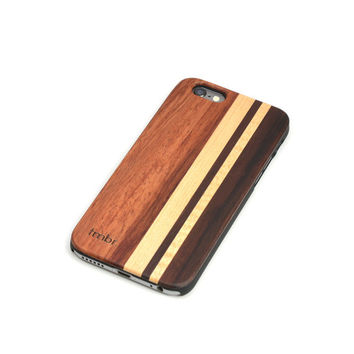 Wood iPhone 6 Case, Real Wooden iPhone 6 Case, Free USA Shipping - MXC6