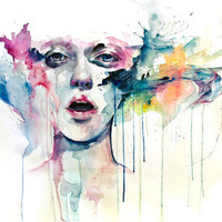 learn to bloom Art Print by Agnes-cecile | Society6