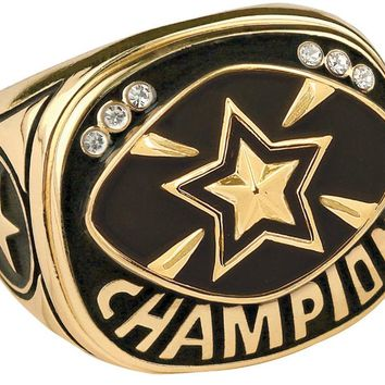 All Star Champion Ring All Star Championship Ring Trophy Ring (10 Sizes)