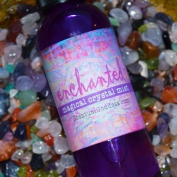 Enchanted Magical Crystal Mist - Beautifully Scented All Purpose Spray