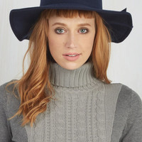 Nautical Topper the Morning Hat in Navy by ModCloth