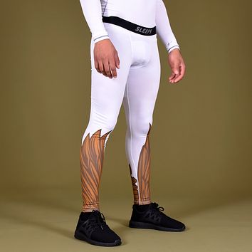 Icarus 3 White Gold Tights for men