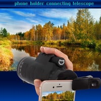 Universal Phone Photo Camera Lens 10 * 40 Telescope Monocular with Clip
