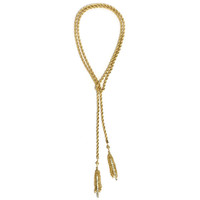 Rope Tassel Necklace | Jeweliq Statement Necklaces
