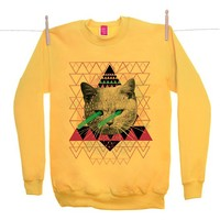 Street Market — Ohh Deer - Pastel - Yellow Sweater By Kris Tate