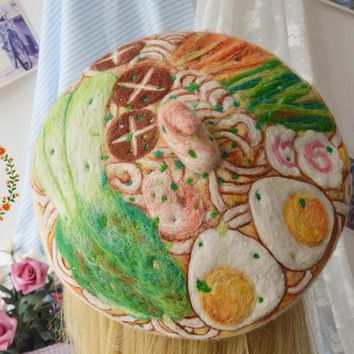 Princess sweet lolita beret Original manual Hand-Pulled Noodle stereo shrimp mushroom cap Clay oven rolls cute Beret forest MM43