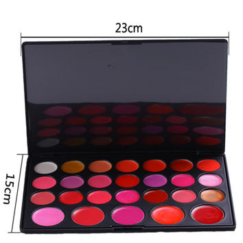 Beauty Hot Deal Hot Sale On Sale Make-up Professional Stylish 6-color Lip Gloss Moisture Persistent Make-up Palette [4918376324]