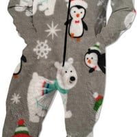 Warm Christmas Onesuit For Kids/grown Ups