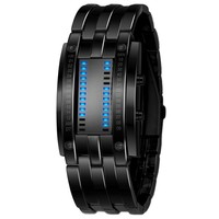 Led Watches For  Skmei  Lovers Sports Watches  Couple Tables Alloy Plating Bracelet Popular Creative  Led Watch