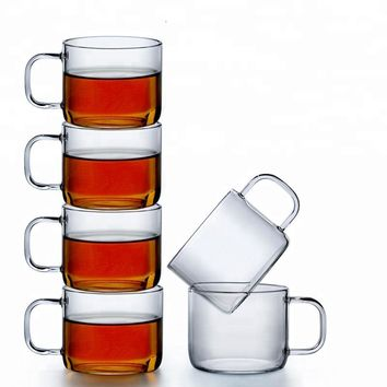 5 oz. Glass Tea Cups (set of 6)