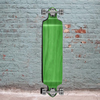 "Green Drop Down 41"" Blank Longboard Woodie Decks"