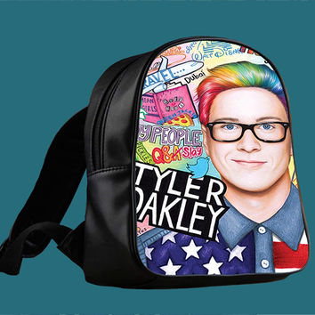 collage art youtubers for Backpack / Custom Bag / School Bag / Children Bag / Custom School Bag *