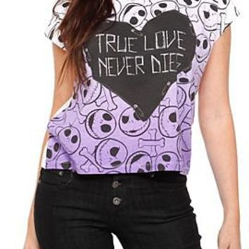 The Nightmare Before Christmas Jack And Crossbones Top - 149712